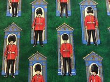 Nutex - Britannia - Changing of the Guard - Green - 100% Cotton Fabric
