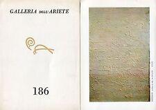OLITSKI, Jules. Catalogo Galleria dell'Ariete n. 186