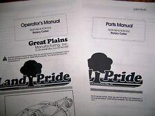 Land Pride Rcr1560 Amp Rcr1572 Rotary Cutter Parts Amp Operator Manuals