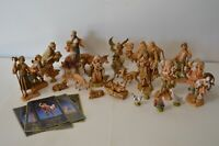Fontanini Vintage Nativity Set 25+ Pieces Baby Jesus Camel Wiseman Angel Mary