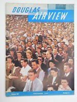 Nov 1941 Douglas Aircraft Airview Employee Magazine WWII Aviation Air Force