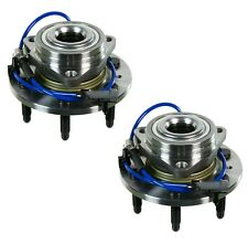 Pair Set of 2 Front Moog 6 Stud Wheel Bearing Hub Kit for Chevrolet GMC 4WD