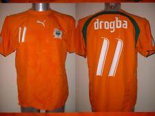 Ivory Coast DROGBA Puma XXL Shirt Jersey Football Soccer Africa Chelsea