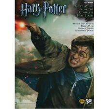 Harry Potter Sheet Music from the Complete Film Series-Easy Piano version