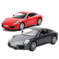 Porsche 911 Carrera S Sports Car 1:36 Scale Model Car Diecast Gift Toy Vehicle