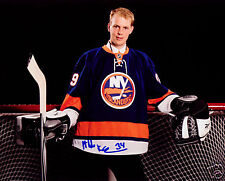 Mikko Koskinen New York Islanders SIGNED 8x10 Photo COA