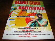 MANU CHAO - PUBLICITE BABYLONIA EN GUAGUA !!!!!!