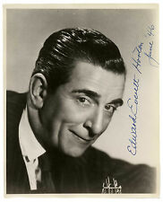 Edward Everett Horton Signed Photo -- 8'' x 10''