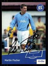 Martin Fischer Karlsruher SC 2005/06 TOP AK +  + A 72070