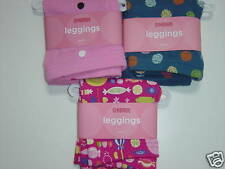 Lot 3 NWT Gymboree Leggings Candy Pink Blue Lots Dots 3