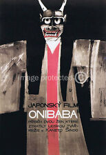 Onibaba Vintage Movie Poster  18x24 Standing Demon Japanese