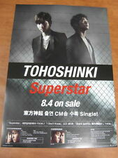 TOHOSHINKI - Superstar [OFFICIAL] POSTER *NEW* TVXQ
