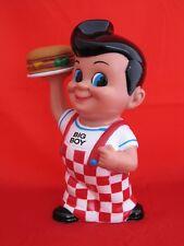 Colorful Collectible Frischs, Bobs, or Shoneys Big Boy Bank with Hamburger- Nice