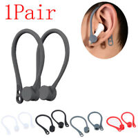 1Pair Protective Earhooks Holder Secure Hooks Wireless Silicone Earphone Spo Z0U