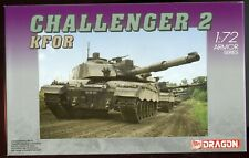 1/72 Dragon Challenger 2 KFOR Battle Tank Kit #7222