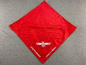 Camp Thunderbird Bandana Scarf Red Boys and Girls Summer Camp YMCA VTG