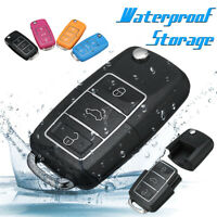 Waterproof Stash Car Key Secret Safe Hidden Pill Case Storage Container Black j