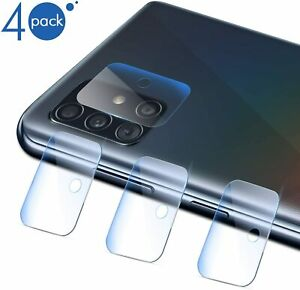 4 Pack For Samsung Galaxy A51/A71 (4G/5G) Shockproof Clear Camera Lens Protector