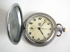 USSR pocket watch Molnia (lightning) Soviet mechanical  Molniya!