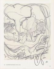 CLAES OLDENBURG --- original signiert - 6#27a