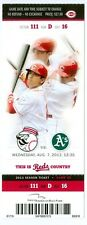 2013 Reds vs Oakland A's Ticket: Jay Bruce & Josh Donaldson hit HRs