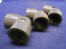 LASCO 1 1/4 SCH 80 90 DEGREE PIPE FITTING THREADED LOT OF 3