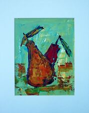 STEVEN WARD Still Life Abstract Acrylic Painting
