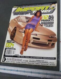 IMPORT TUNER MAGAZINE MARCH 2001 ISSUE #24