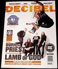 Decibel Magazine #163 May 2018 - Lamb Of God, Grief, Khemmis, At The Gates FLEXI
