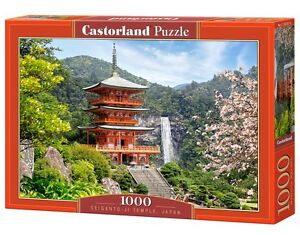 Castorland C-103201 Puzzle Seiganto-Ji Temple Japan Tempel Gebäude 1000 Teile