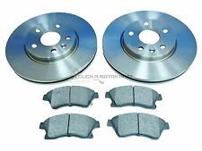 CHEVROLET CRUZE 2011-2015 FRONT 2 BRAKE DISCS & PADS SET (276mm) CHECK SIZE