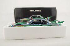 """1:18 Minichamps - BMW 3.5 CSL GRUPPE 5 1976 """" GÖSSER BIER  #7 - RAR - Neu in OVP"""