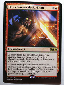 Descellement de Sarkhan    MTG Magic Francais