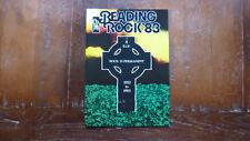 READING ROCK. 1983 Programme. Unread. Black Sabbath. Thin Lizzy. Inc Newspaper.