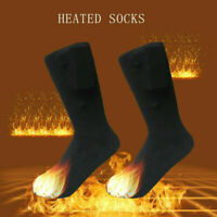 1 Pair Battery Heated Hot Boot Socks Feet Foot Warmer Electric Heater Outdoor