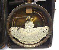 ANTIQUE 19TH RARE GERMAN SCHAEFFER BUDENBERG INSPECTOR STEAM ENGINE MANOMETER