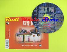 CD Singolo REVELINO I know what you want 1996 france MUSIDISC no lp mc dvd (S6)