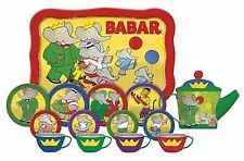 Schylling Toys For Girls Childrens Teasets Babar Toys For Toddlers 15 pieces