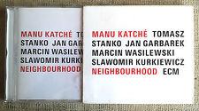 Manu Katché – Neighbourhood Label: ECM Records –  CD