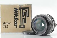 【EXC+++!!】 Nikon Ai Nikkor 28mm f/ 3.5 Wide Angle MF Prime Lens from Japan
