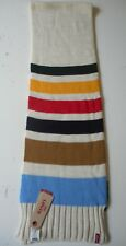 LEVI'S SCARF MADE IN ITALY MEN'S UNISEX MULTI COLOUR FREE POSTAGE UK BNWT