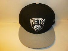 Brooklyn Nets New Era NBA 9FIFTY Snapback Baseball Hat Cap (MEN 1-Size)