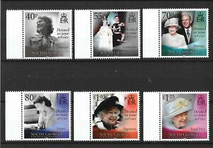 South Georgia and SSI 2021 NEW ISSUE HM QEII 95th Birthday 21-04-21   MNH