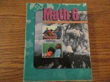 BJU Math 6 student book