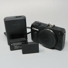Canon EOS M 18.0 MP Digital Camera Black Body Only - Nice Photos!