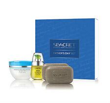 Gift for Dad Seacret ($314.82 VALUE) eye serum scrubs gel soap