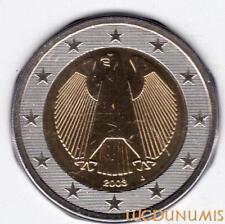 Allemagne 2003 2 Euro J Hambourg BU FDC provenant coffret 180000 exemplaires - G