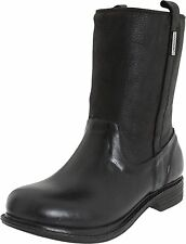 NEW Bogs Womens Mason Leather Rain Boots Shoes, Waterproof, Brown or Black 6, 7