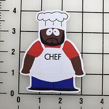 "South Park Chef 4"" Tall Vinyl Decal Sticker BOGO"