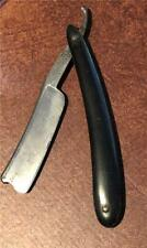 "OLD ANTIQUE WADE & BUTCHER WEDGE STRAIGHT RAZOR 7/8"" JENNY LIND ETCH"
